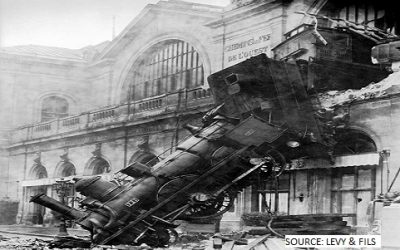 Financial markets head for (another) train crash as coronavirus starts to impact